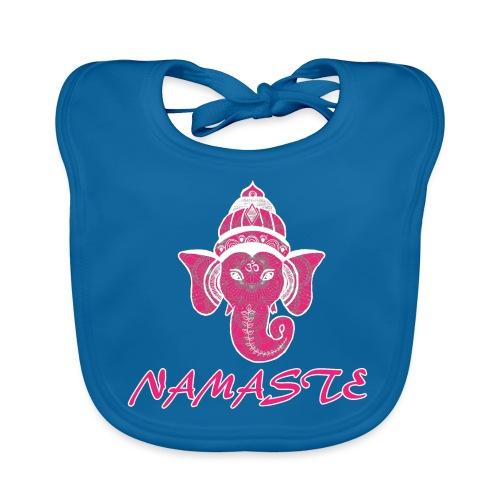 shiva rose namaste yoga pace amore hippie fitness - Bavaglino ecologico per neonato