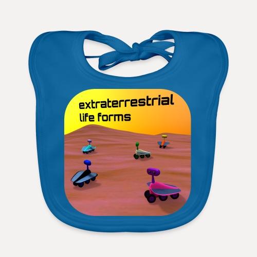 Leben auf dem Mars - Organic Baby Bibs