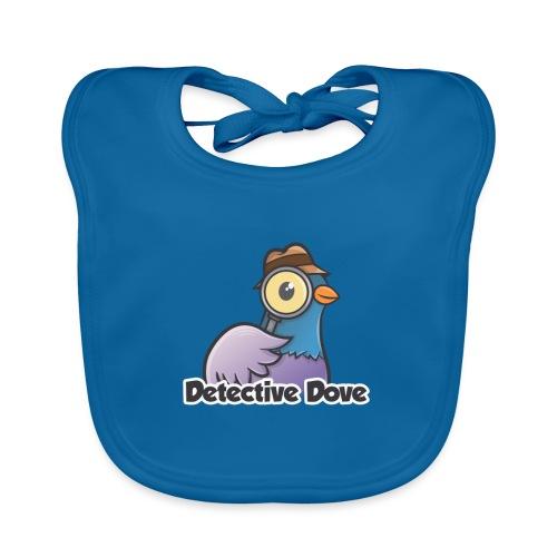 Detective Dove Logo - Baby Bio-Lätzchen