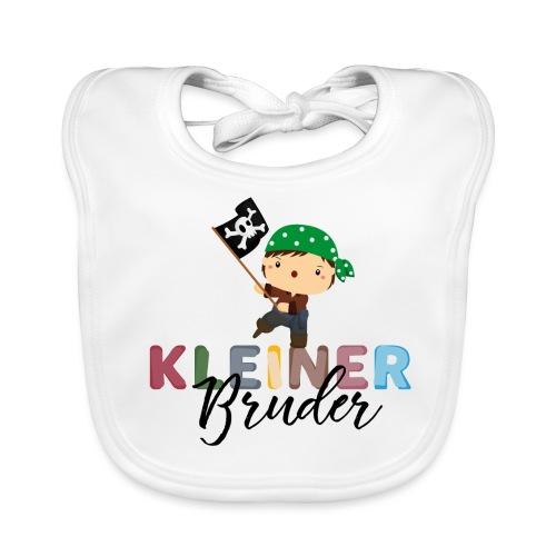 Kleiner Bruder Piraten - Baby Bio-Lätzchen