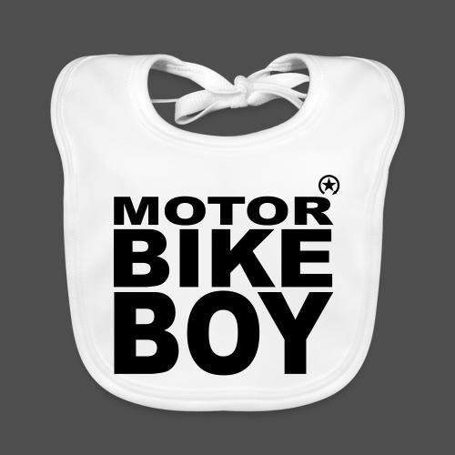 Motorbike Boy - Baby Bio-Lätzchen