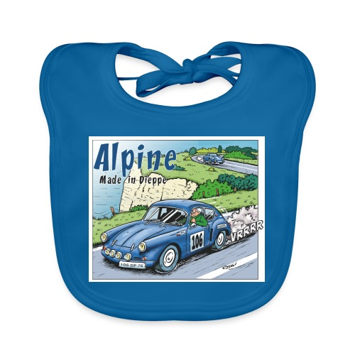 Polete en Alpine 106 - Bavoir bio Bébé