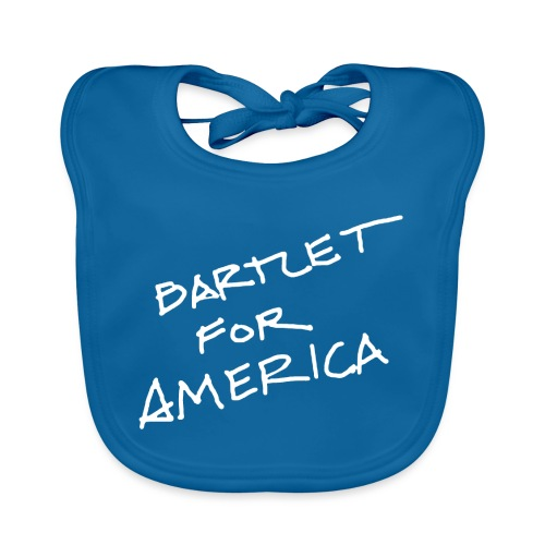 Bartlet For America - Baby Organic Bib