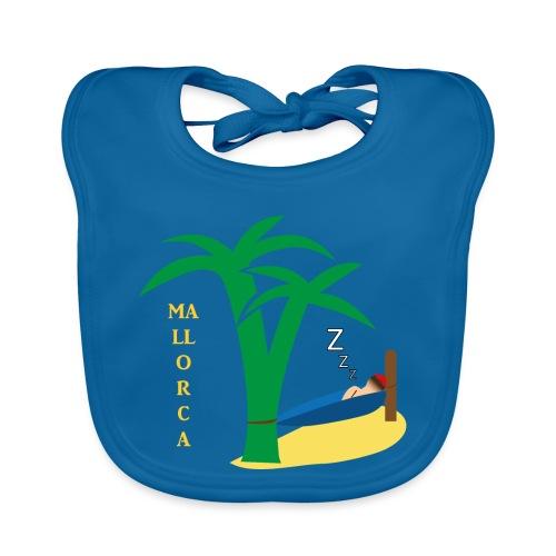 Mallorca - Urlaub unter Palmen - Baby Bio-Lätzchen