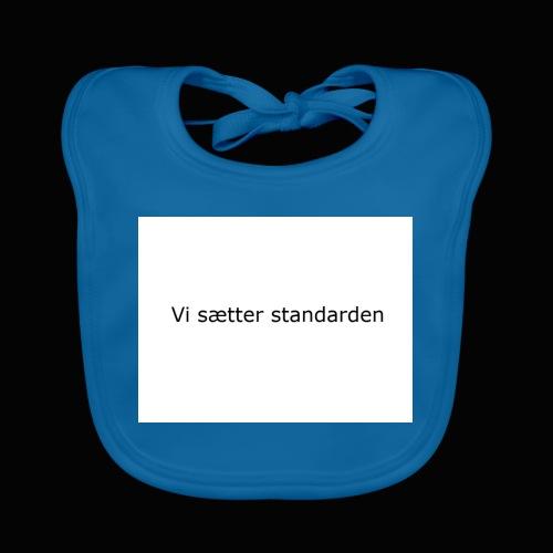 Vi Sætter Standarden - Hagesmække af økologisk bomuld