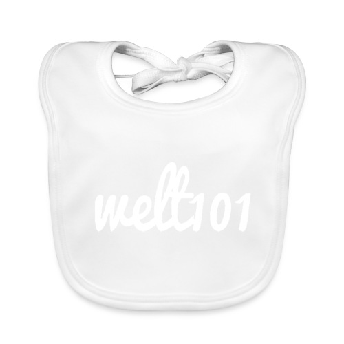 White Collection - Baby Organic Bib