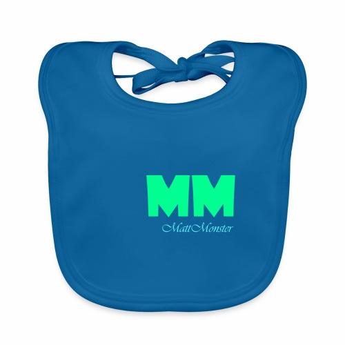 MattMonster Signature logo - Baby Organic Bib
