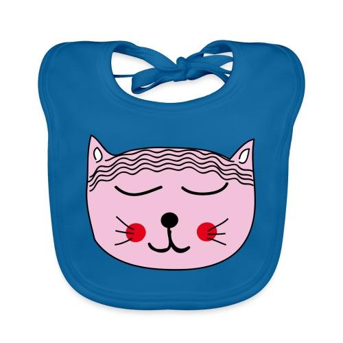 Katze Miau - Baby Bio-Lätzchen