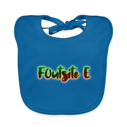 F0utsite E (HALLOWEEN Edition) - Ekologisk babyhaklapp