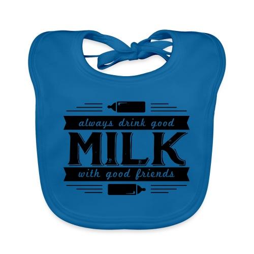 Drink Milk 1 - Baby Bio-Lätzchen