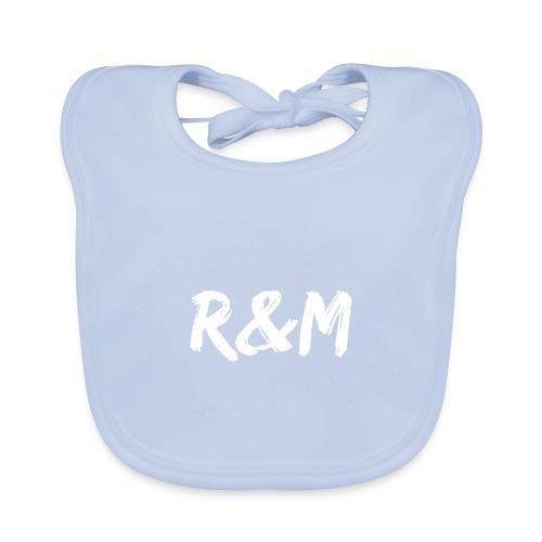 R&M Large Logo tshirt black - Baby Organic Bib