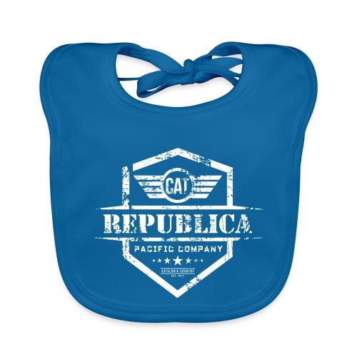 REPUBLICA CATALANA - Babero de algodón orgánico para bebés