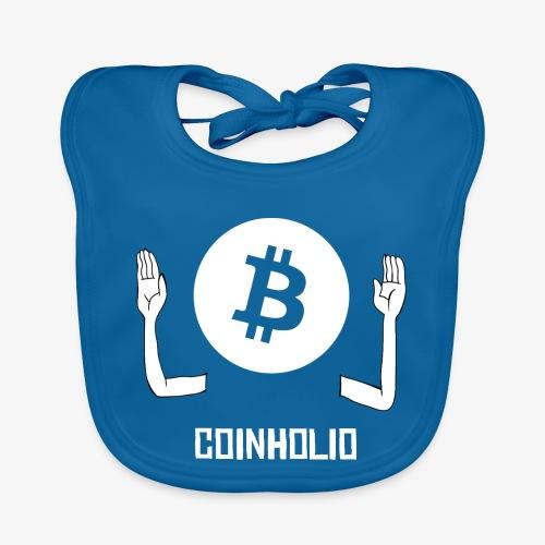 HODL coin holio-w - Baby Organic Bib
