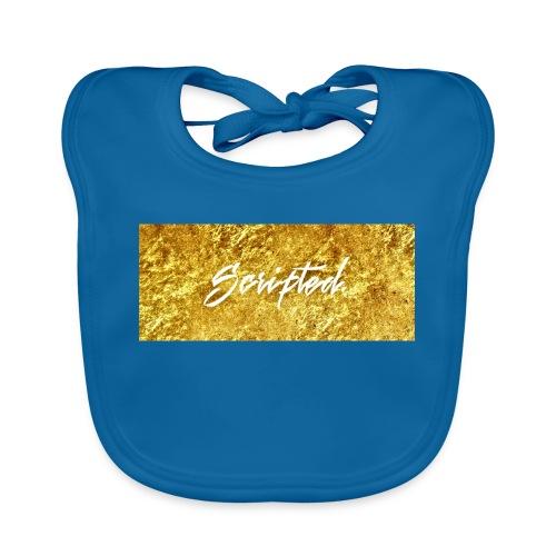 Scripted. Box Logo - Baby Organic Bib