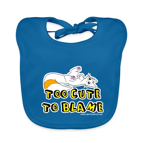 Too Cute To Blame - Baby Organic Bib
