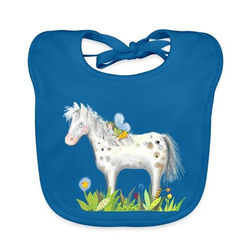 Fee. Das Pferd und die kleine Reiterin. - Baby Bio-Lätzchen