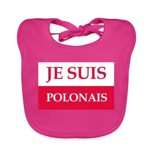 Je suis Polonais - Ekologiczny śliniaczek
