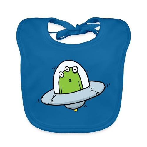 Flying Visit Alien - Baby Organic Bib