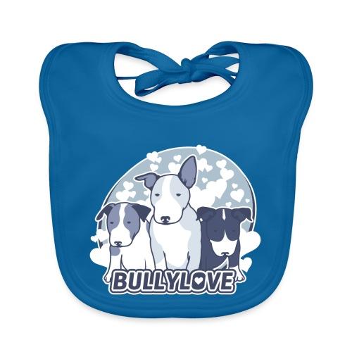 Bullterrier WELPEN - Baby Bio-Lätzchen