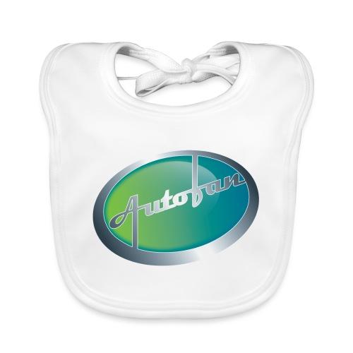 Autofan groen - Bio-slabbetje voor baby's