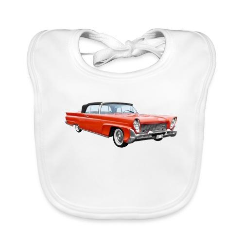 Red Classic Car - Bio-slabbetje voor baby's