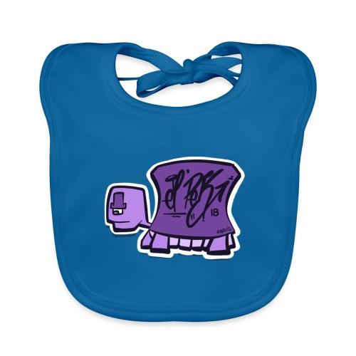 Tag turtle / Schildkröte Logo - Baby Bio-Lätzchen
