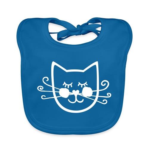 Katze # Affentanz - Baby Bio-Lätzchen