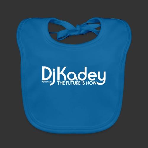 White Dj Kadey Logo - Bavoir bio Bébé