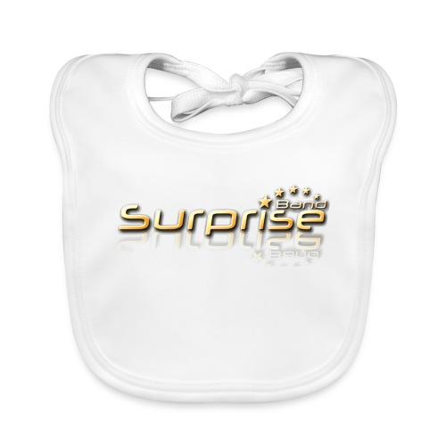 Surprise Band Logo Gold - Baby Bio-Lätzchen
