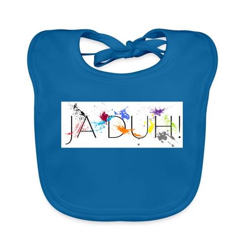 Ja Duh! Merchandise Mula B Meesterplusser - Bio-slabbetje voor baby's