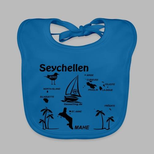 Seychellen Insel Crewshirt Mahe etc. - Baby Bio-Lätzchen
