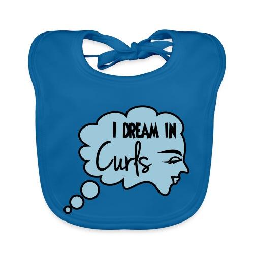 I Dream In Curls - Baby Organic Bib