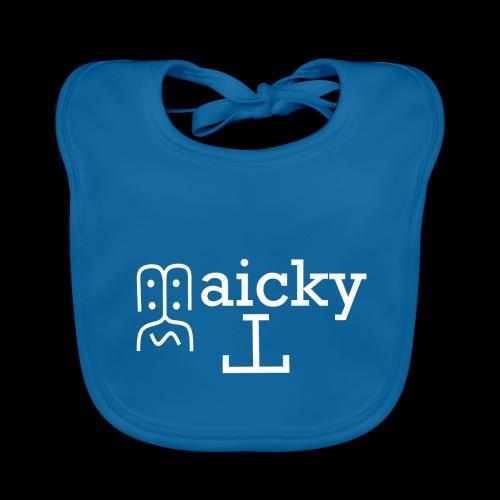 maicky Tv Weiß - Baby Bio-Lätzchen