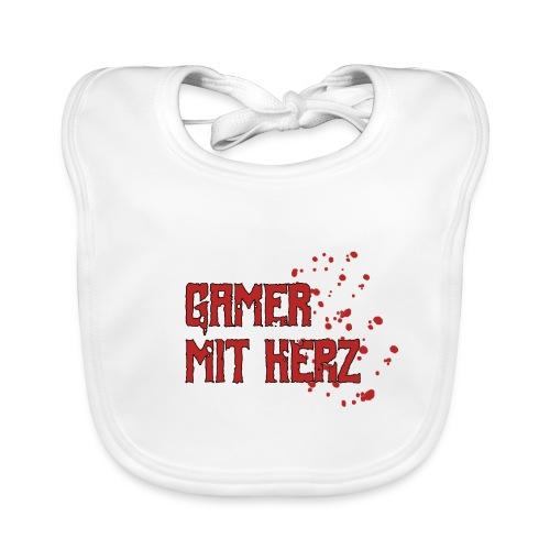 Gamer with heart - Baby Organic Bib