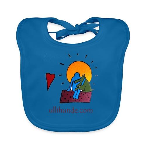 Ullihunde - Logo RETRO - Baby Bio-Lätzchen