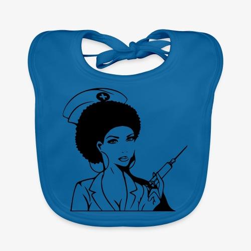 Nurse - Vauvan luomuruokalappu