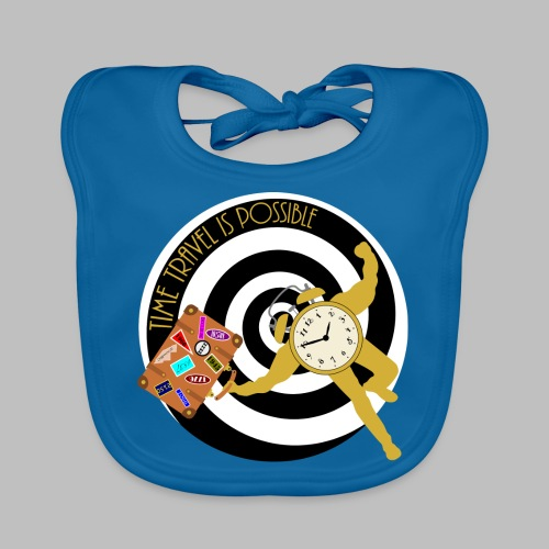 Time Travel Is Possible - Baby Organic Bib