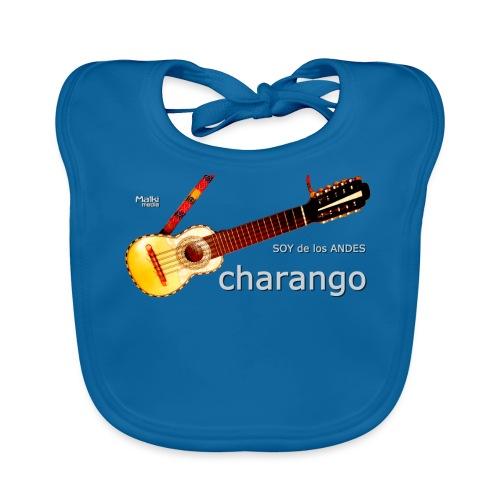De los ANDES - Charango II - Babero de algodón orgánico para bebés