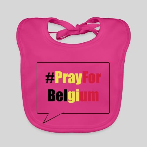 #PrayForBelgium - Bavoir bio Bébé