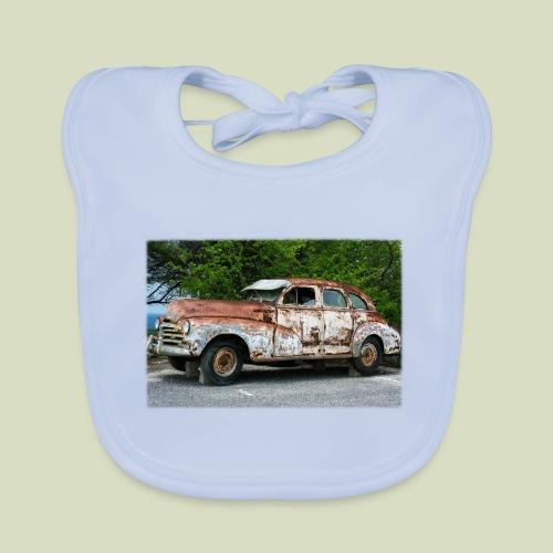 RustyCar - Vauvan luomuruokalappu