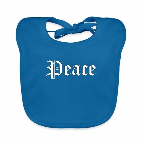 Peace - Baby Bio-Lätzchen