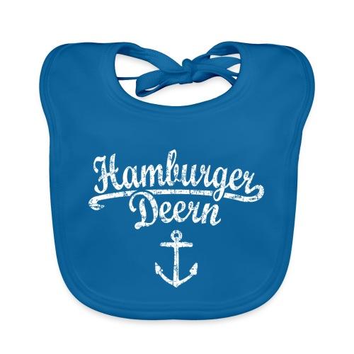 Hamburger Deern Klassik (Vintage Weiß) Hamburg - Baby Bio-Lätzchen