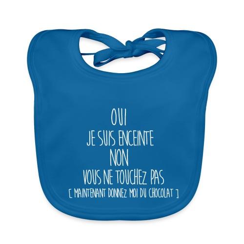 T-Shirt-Femme-Enceinte - Bavoir bio Bébé