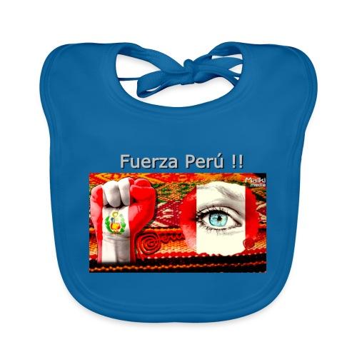 Telar Fuerza Peru I - Babero de algodón orgánico para bebés
