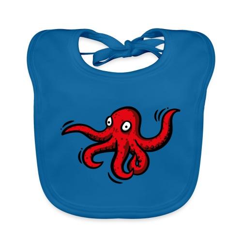 Alien Oktopus - Baby Bio-Lätzchen