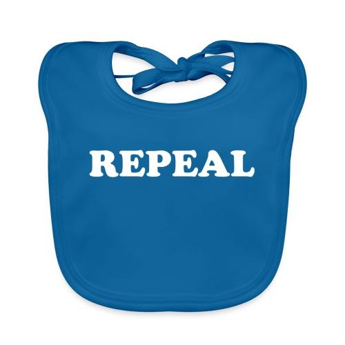 Repeal tshirt - Baby Organic Bib