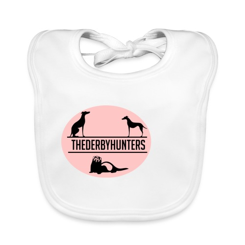 thederbyhunters pinklogo - Organic Baby Bibs