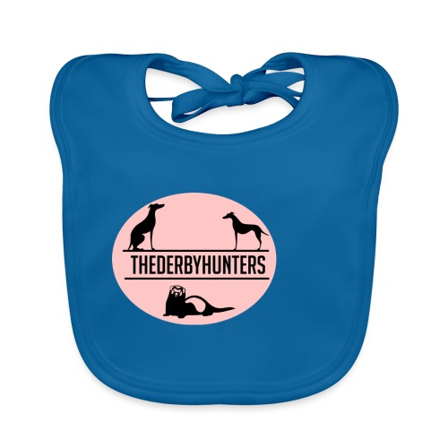 thederbyhunters pinklogo - Baby Organic Bib