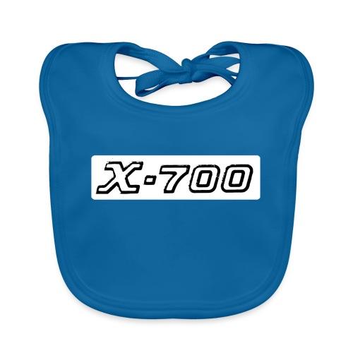 Minolta X-700 White - Bavaglino ecologico per neonato