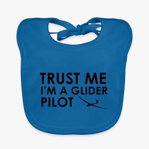 Trust me glider pilot - Bavoir bio Bébé